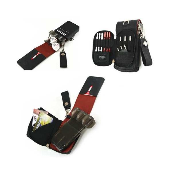 CAMEO GARMENT EXOTIC2 BLACK(カメオ ガーメントエキゾチック2 ブラック)ダーツケース|batdarts|02