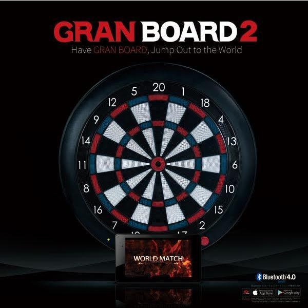 GRANBOARD2 RED/BLUE(グランボード レッド/ブルー)ダーツライブカラー|batdarts