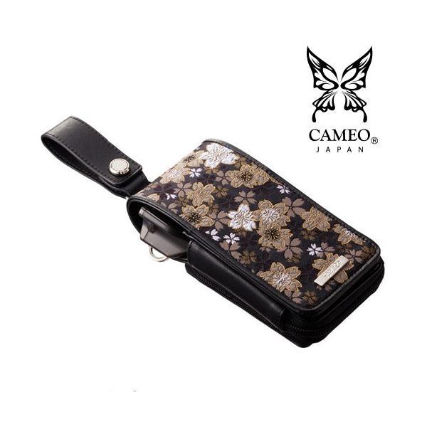 CAMEO GARMENT JAPANESQUE2 黒金桜(カメオ ダーツケース ガーメント ジャパネスク2 くろきんさくら)【ダーツケース】【和柄】【japanesque】|batdarts