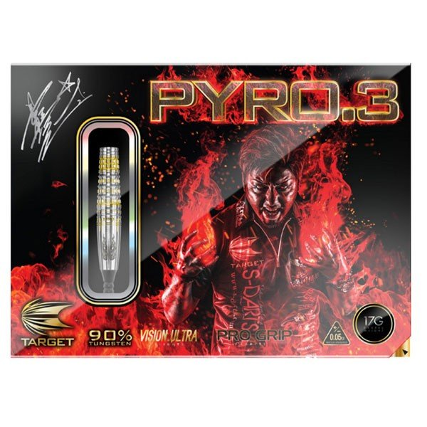 【送料無料】TARGET PYRO3(ターゲット パイロ3)星野光正モデル【ダーツバレル】|batdarts|02