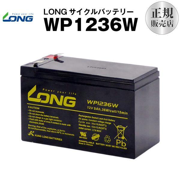 UPS(無停電電源装置) WP1236W(産業用鉛蓄電池) 新品 LONG 長寿命・保証書付き Smart-UPS 750 など対応 サイクルバッテリー