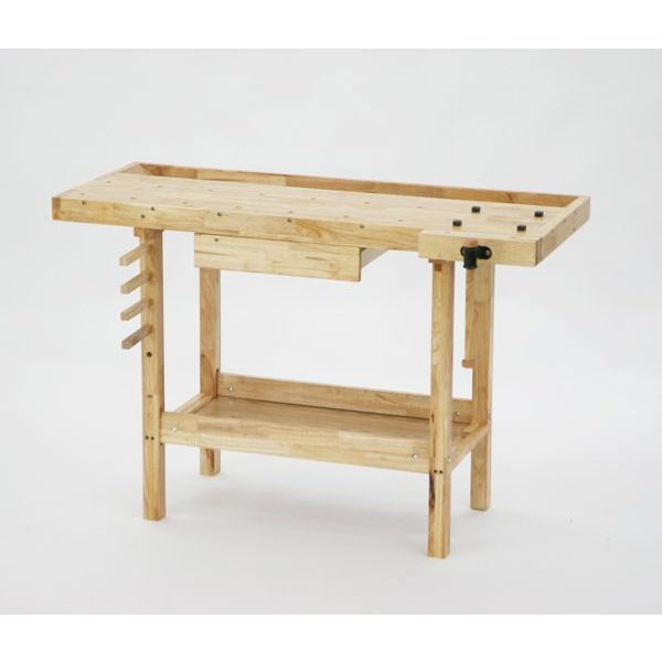 W126 木工作業台 木工用 木製 工作 木製工作 作業台 バイス デスク 机
