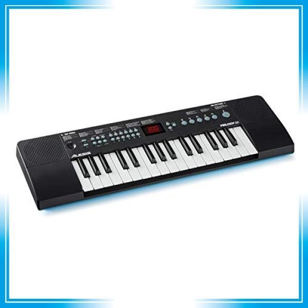 Alesisスピーカー内蔵32鍵ポータブルキーボード300種類の音色40曲のデモソング内蔵。USB-MIDI接続 Melody3