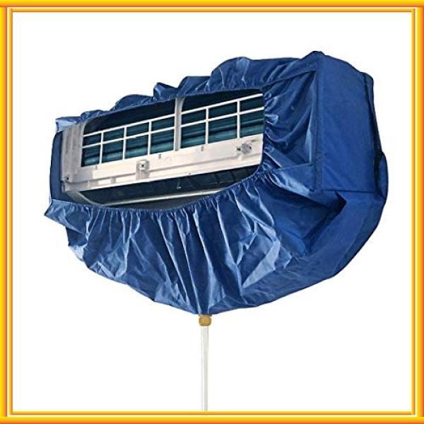Jimjisエアコン洗浄カバーエアコン掃除カバー壁掛け用エアコンクリーニングカバーエアコン掃除防水カバ