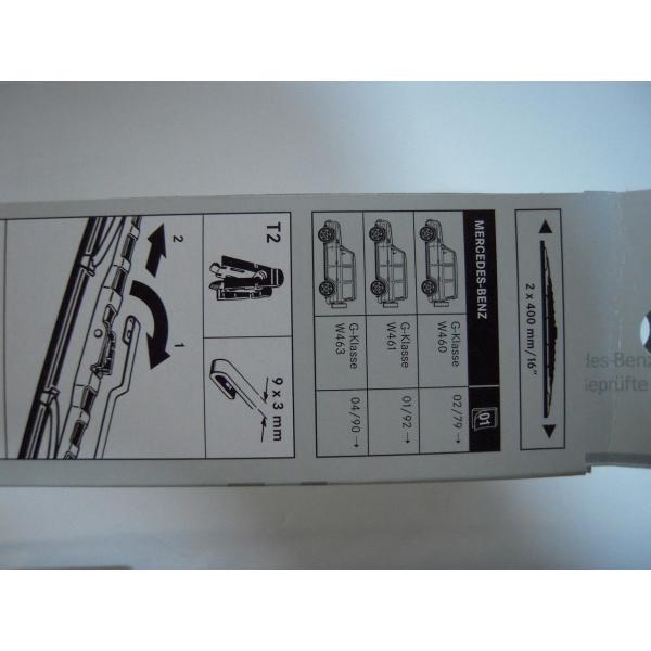 ベンツ フロントワイパーブレード左右セット W463/G500/G55/G320 4638200545 純正|baypar|04