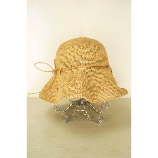 無印良品 MUJI 麦わら帽子 レディース サイズ57.5cm - 中古 ブランド古着バズストア 090118|bazzstore|02