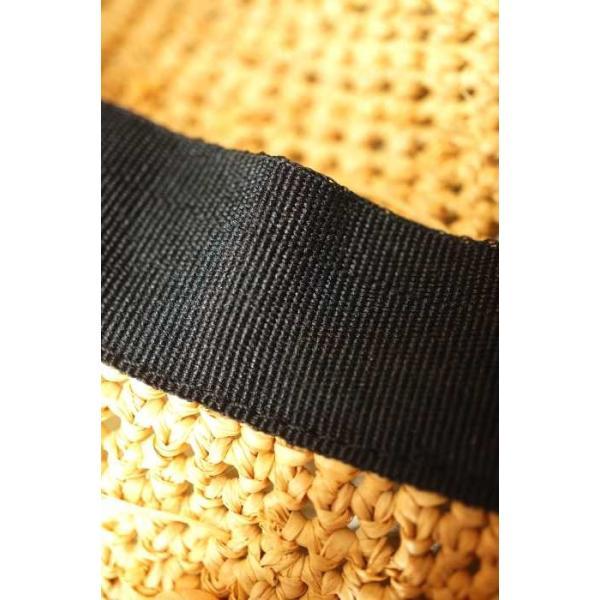 無印良品 MUJI 麦わら帽子 レディース サイズ57.5cm - 中古 ブランド古着バズストア 090118|bazzstore|04