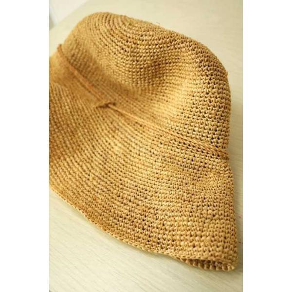無印良品 MUJI 麦わら帽子 レディース サイズ57.5cm - 中古 ブランド古着バズストア 090118|bazzstore|06