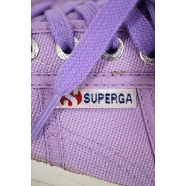 スペルガ SUPERGA スニーカー レディース サイズ36 キャンバスローカットスニーカー 中古 ブランド古着バズストア 240916
