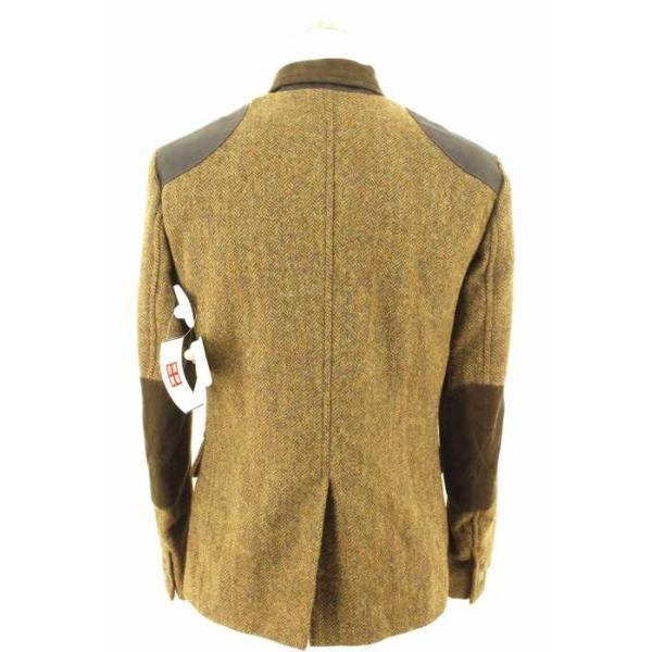 02 DERIV. (ツーディライブ) アウター メンズ サイズジャケット1 ベスト1 Luxury Fabric by MOON 2ピースツイードテ|bazzstore|02