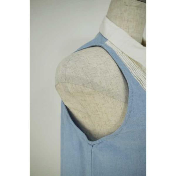 ダブルスタンダードクロージング DOUBLE STANDARD CLOTHING シャツ レディース サイズF ノースリーブシャツワンピース 中古 ブ|bazzstore|05