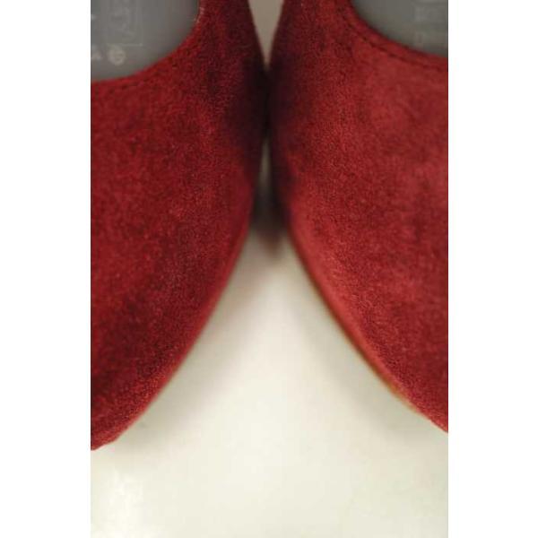 ピッピ Pippi シューズ レディース サイズ361/2 ウェッジソールスウェードサンダル 中古 ブランド古着バズストア 010816