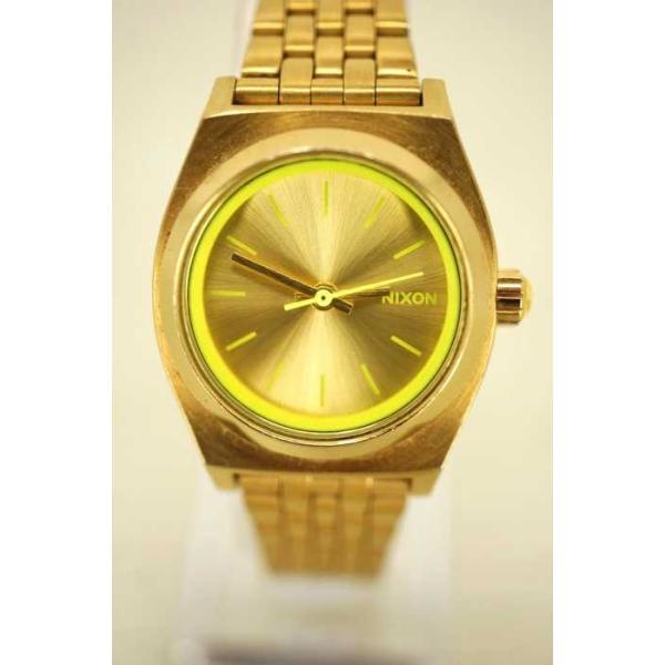 ニクソン NIXON クオーツ腕時計 レディース サイズ表記無 THE SMALL TIME TELLER 中古 ブランド古着バズストア 120319