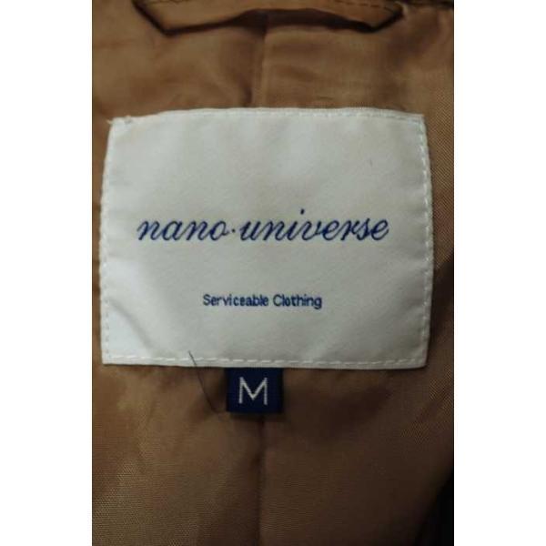 ナノユニバース nano universe ショート トレンチコート レディース M 中古 ブランド古着バズストア 200331|bazzstore|03