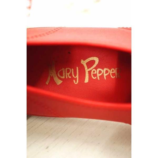 メリー ペッパー MARY PEPPER レインシューズ レディース サイズUS:4 レインシューズ 中古 ブランド古着バズストア 180119