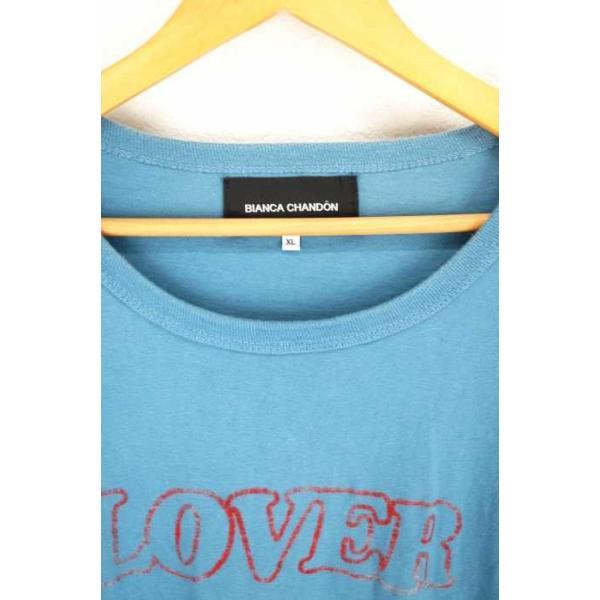 ビアンカシャンドン BIANCA CHANDON クルーネックTシャツ メンズ サイズJPN:XL Lover L/S T-Shirt プリントロング|bazzstore|04