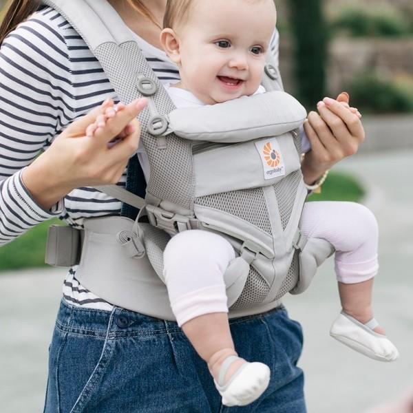 エルゴ 抱っこひも 新生児 オムニ 360 抱っこ紐 夏 OMNI クールエアー Cool Air 最上級 日本正規品 2年保証 送料無料|bb-yamadaya|14