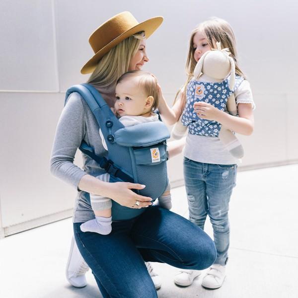 エルゴ 抱っこ紐 新生児 夏用 抱っこひも アダプト クールエアー 新色追加 adapt 日本正規品 2年保証 送料無料|bb-yamadaya|13