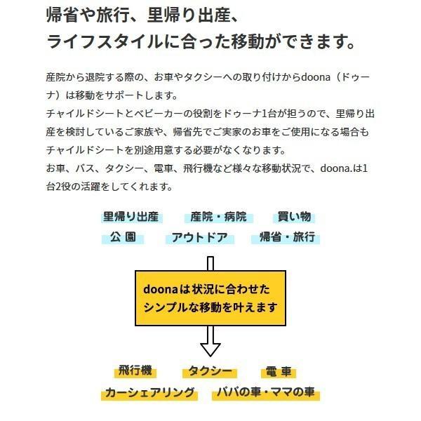 ベビーカー バギー 新生児 A型 ドゥーナ チャイルドシート 一台二役 スナップバック ISOFIXベース コンプリートセット 送料無料|bb-yamadaya|07
