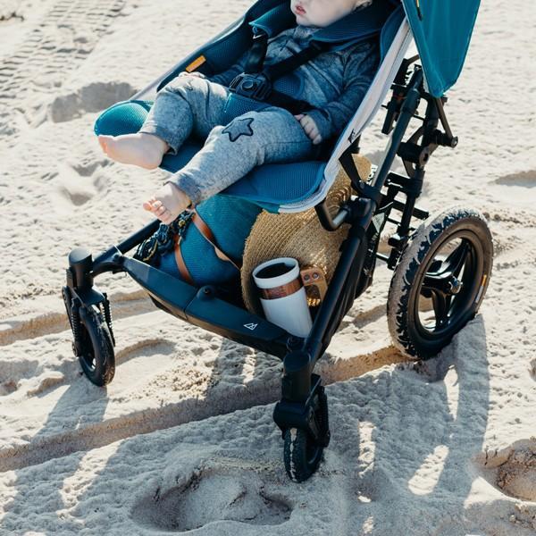 ベビーカー バギー 新生児 B型 マイクラライト ファストフォールド 大型エアチューブタイヤ 振動吸収 レインカバー付属 Micralite 送料無料|bb-yamadaya|11