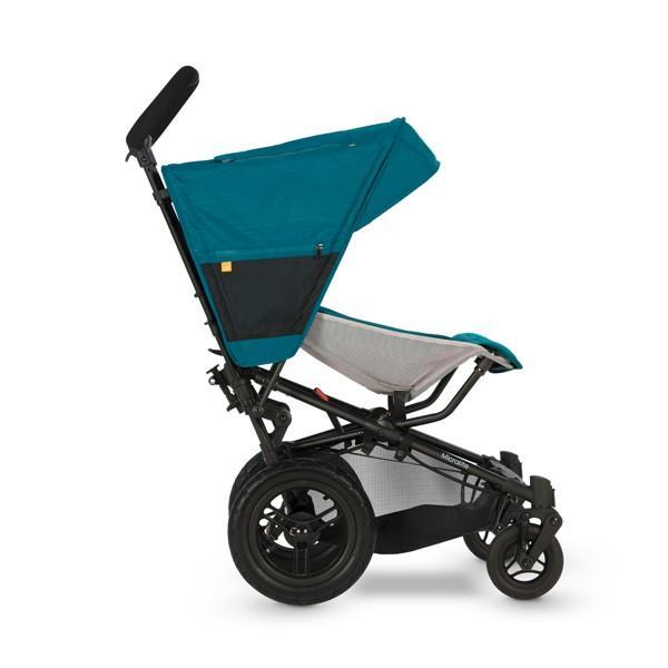 ベビーカー バギー 新生児 B型 マイクラライト ファストフォールド 大型エアチューブタイヤ 振動吸収 レインカバー付属 Micralite 送料無料|bb-yamadaya|05