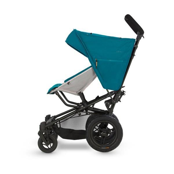 ベビーカー バギー 新生児 B型 マイクラライト ファストフォールド 大型エアチューブタイヤ 振動吸収 レインカバー付属 Micralite 送料無料|bb-yamadaya|06