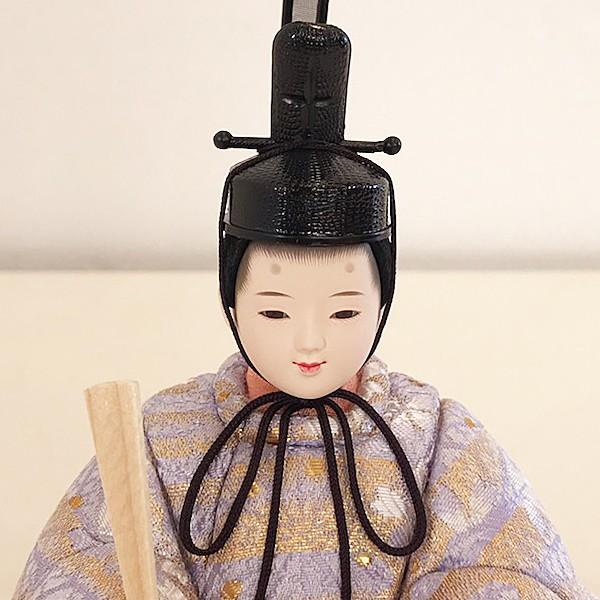 雛人形 コンパクト 久月 収納飾り 親王飾り 木目込み ひな人形 ほのか 瑞希雛 二人 HN2-3S 送料無料 bb-yamadaya 03