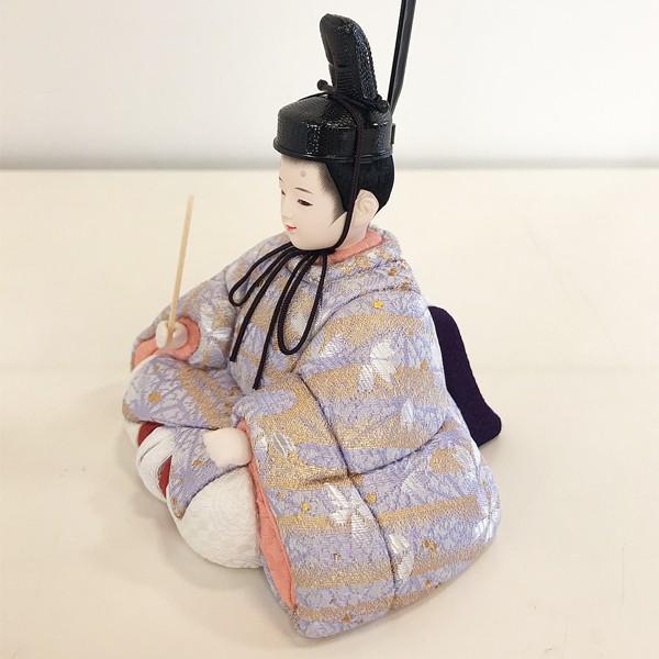 雛人形 コンパクト 久月 収納飾り 親王飾り 木目込み ひな人形 ほのか 瑞希雛 二人 HN2-3S 送料無料 bb-yamadaya 04