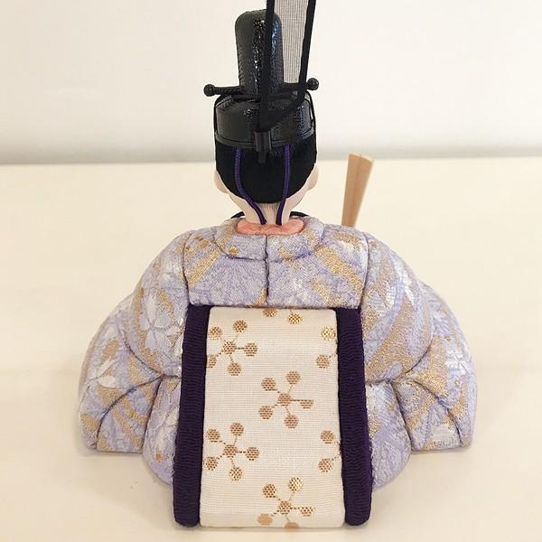 雛人形 コンパクト 久月 収納飾り 親王飾り 木目込み ひな人形 ほのか 瑞希雛 二人 HN2-3S 送料無料 bb-yamadaya 05