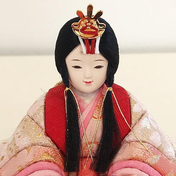 雛人形 コンパクト 久月 収納飾り 親王飾り 木目込み ひな人形 ほのか 瑞希雛 二人 HN2-3S 送料無料 bb-yamadaya 06