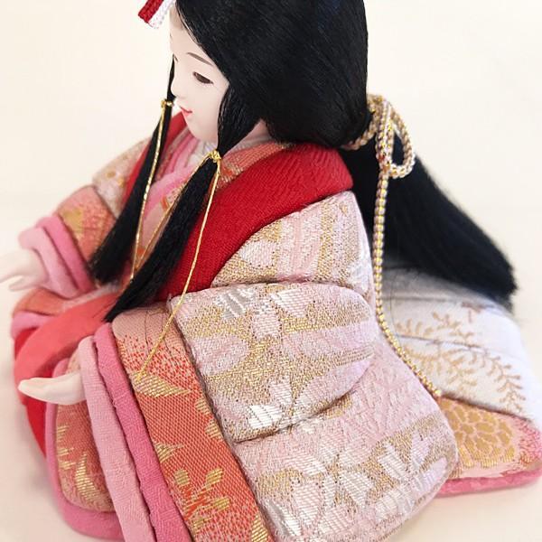 雛人形 コンパクト 久月 収納飾り 親王飾り 木目込み ひな人形 ほのか 瑞希雛 二人 HN2-3S 送料無料 bb-yamadaya 07