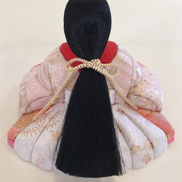雛人形 コンパクト 久月 収納飾り 親王飾り 木目込み ひな人形 ほのか 瑞希雛 二人 HN2-3S 送料無料 bb-yamadaya 08