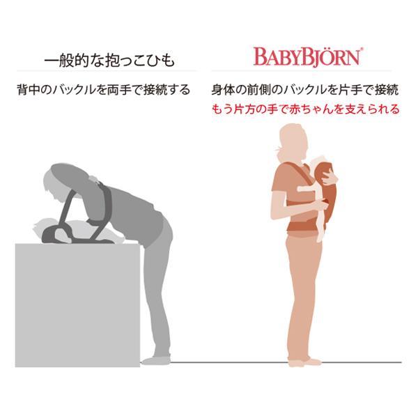抱っこ紐 夏用 新生児 抱っこひも ベビービョルン キャリア MINI AIR 3Dジャージー ミニ メッシュ BJORN 送料無料|bb-yamadaya|09