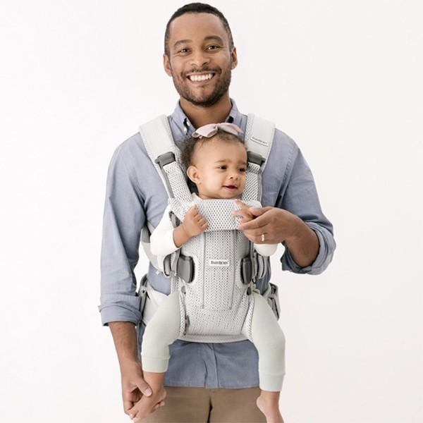 抱っこ紐 夏用 新生児 抱っこひも ベビービョルン ONE KAI AIR メッシュ ワンカイ エアー ティージングスタイ付 2点セット|bb-yamadaya|11