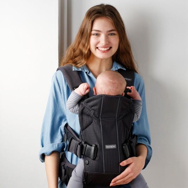 抱っこ紐 夏用 新生児 抱っこひも ベビービョルン ONE KAI AIR メッシュ ワンカイ エアー ティージングスタイ付 2点セット|bb-yamadaya|12
