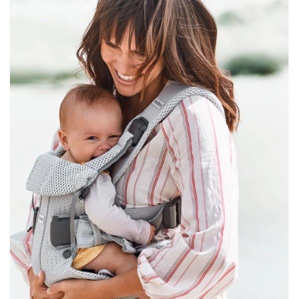 抱っこ紐 夏用 新生児 抱っこひも ベビービョルン ONE KAI AIR メッシュ ワンカイ エアー ティージングスタイ付 2点セット|bb-yamadaya|14