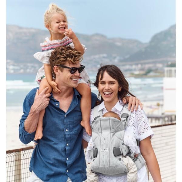 抱っこ紐 夏用 新生児 抱っこひも ベビービョルン ONE KAI AIR メッシュ ワンカイ エアー ティージングスタイ付 2点セット|bb-yamadaya|15
