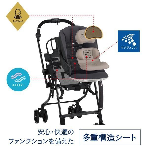 ベビーカー バギー 新生児 A型 コンビ スゴカル コンパクトエッグショック HH オート4キャス SOGOCAL compact bb-yamadaya 05