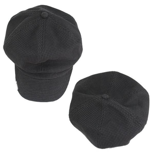 大きいサイズ キャスケット ワッフル生地 帽子 コットン キャスケット帽 無地 キャップ ハンチング 綿 メンズ レディース CAP 1308 bbdirect 04