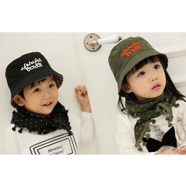 バケットハット 幼児サイズ ベビー キッズ ハット 子ども用  帽子 リバーシブル 無地 柄  サファリハット CAP 1560|bbdirect|04