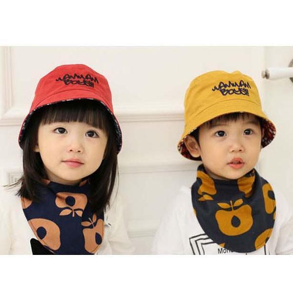 バケットハット 幼児サイズ ベビー キッズ ハット 子ども用  帽子 リバーシブル 無地 柄  サファリハット CAP 1560|bbdirect|05