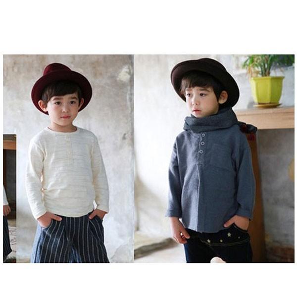 帽子 中折れ フェルトハット 中折れ フェルト帽 中折れハット S M キッズハット 子ども用 無地 メンズ レディース 親子帽子 FELT HAT 3020|bbdirect|07