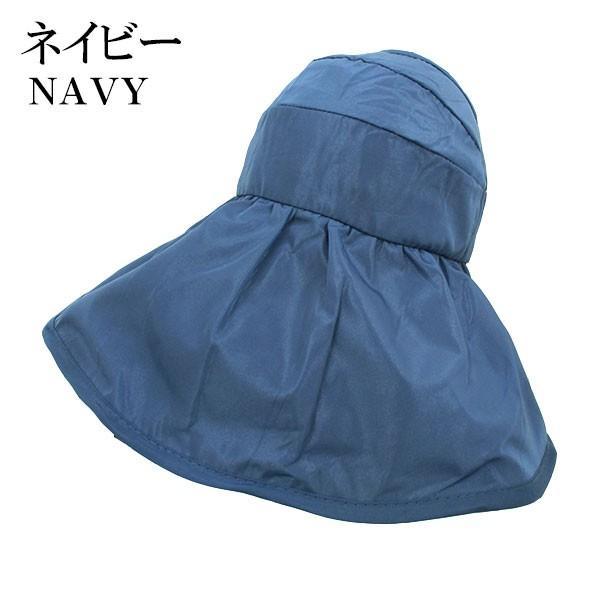 つば広 レディースハット サンバイザー 折りたたみ 帽子 S M キッズハット UVハット UVカット 紫外線カット 日よけ帽子 婦人帽 子ども帽子 SUNVISOR HAT 5503 bbdirect 07