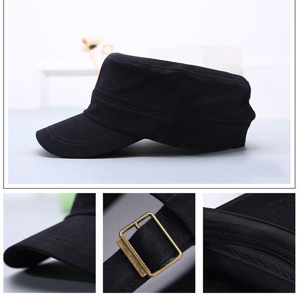 コットン ワークキャップ 帽子 無地 キャップ 綿 迷彩 ミリタリー風 軍帽子メンズ レディース CAP 6113|bbdirect|04
