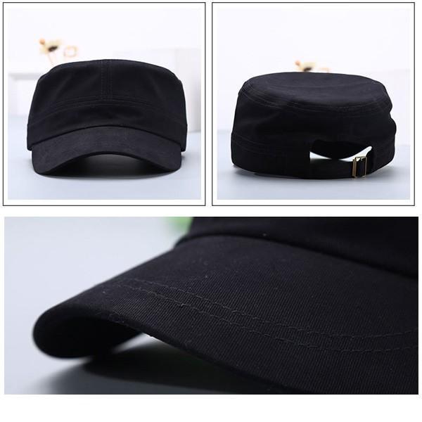コットン ワークキャップ 帽子 無地 キャップ 綿 迷彩 ミリタリー風 軍帽子メンズ レディース CAP 6113|bbdirect|05