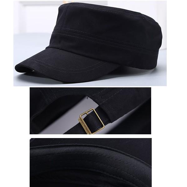 コットン ワークキャップ 帽子 無地 キャップ 綿 迷彩 ミリタリー風 軍帽子メンズ レディース CAP 6113|bbdirect|06