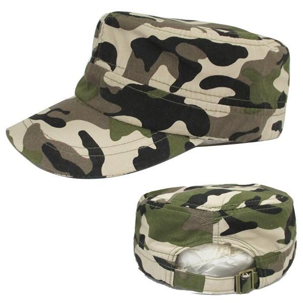 コットン ワークキャップ 帽子 無地 キャップ 綿 迷彩 ミリタリー風 軍帽子メンズ レディース CAP 6113|bbdirect|07