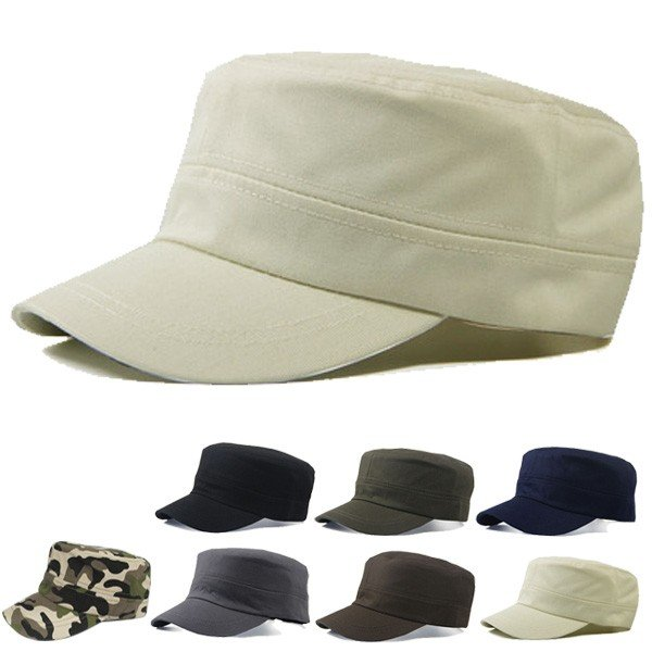 コットン ワークキャップ 帽子 無地 キャップ 綿 迷彩 ミリタリー風 軍帽子メンズ レディース CAP 6113|bbdirect|09