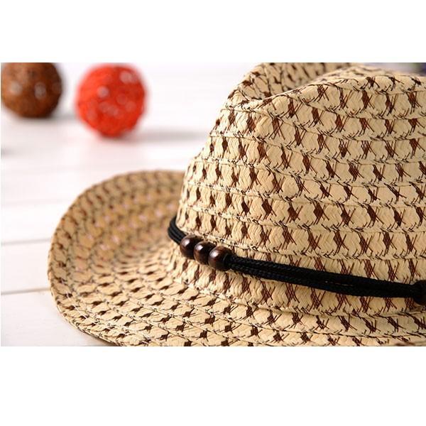 子供用 麦わら帽子 テンガロンハット キッズハット ストローハット 帽子 カウボーイハット 中折れ 麦藁 キッズ 子ども 春 夏 STRAW HAT 6508 bbdirect 05