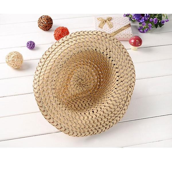 子供用 麦わら帽子 テンガロンハット キッズハット ストローハット 帽子 カウボーイハット 中折れ 麦藁 キッズ 子ども 春 夏 STRAW HAT 6508 bbdirect 06